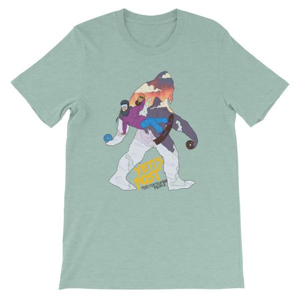 Snowboarder Yeti Shirt