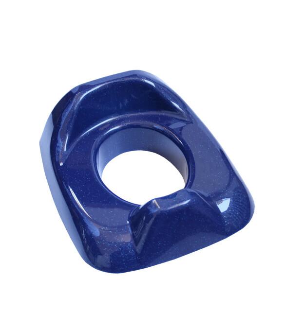 Réducteur de toilette Bleu pailleté