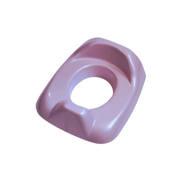 Réducteur de toilette Rose pailleté