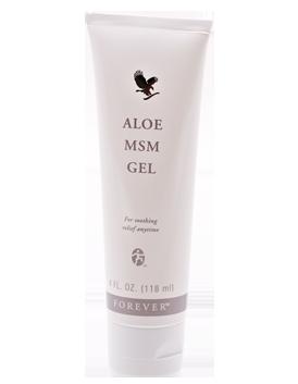 Aloe MSM massage gel  (Metylsulfunylmetan)