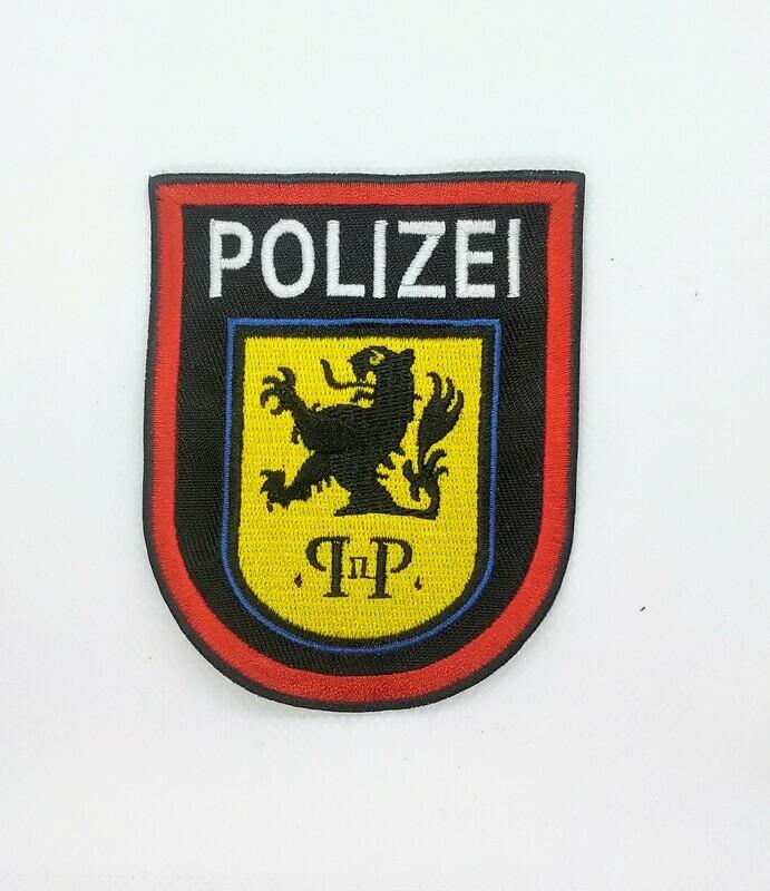 Polizei badge