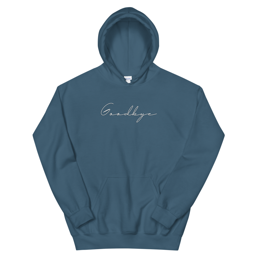 Goodbye Blue Unisex Hoodie + Digital Download