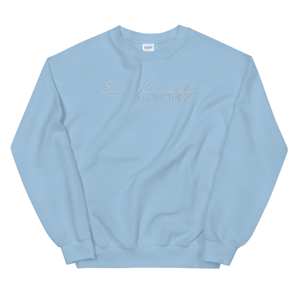 All the Time Blue Sweatshirt + Digital Download