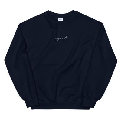 Regret Embroidered Pullover