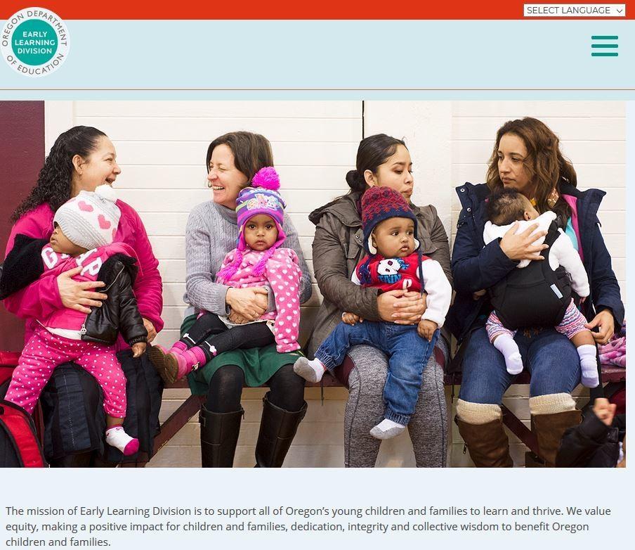 Step 1 on Oregon Child Care Registry