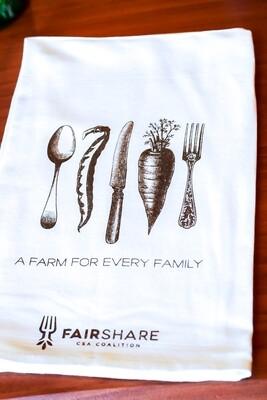Farm For Every Family Dish Towel