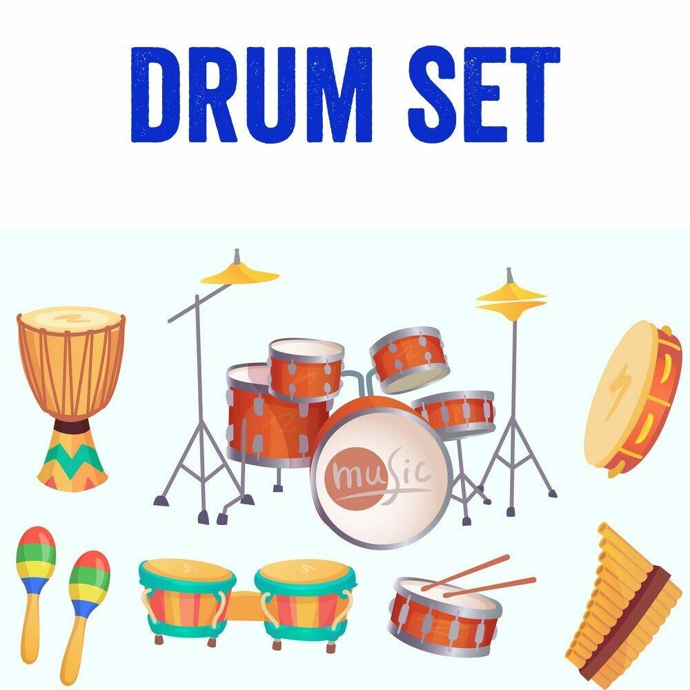 Drumset* - Mondays 6:00-6:45pm