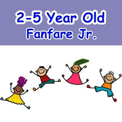 Fanfare Jr. - Mondays 6:00pm-6:45pm