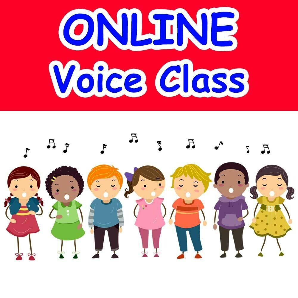 Solo Voice Techniques* - ONLINE Tuesdays 5:00-5:45pm