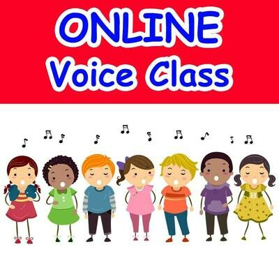 Solo Voice Techniques* - ONLINE Tuesdays 5:00-5:45pm