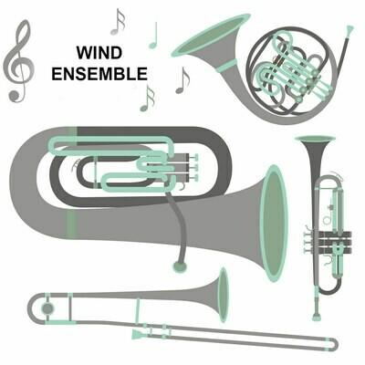 Wind Ensemble* - Thursdays 4:00-4:45