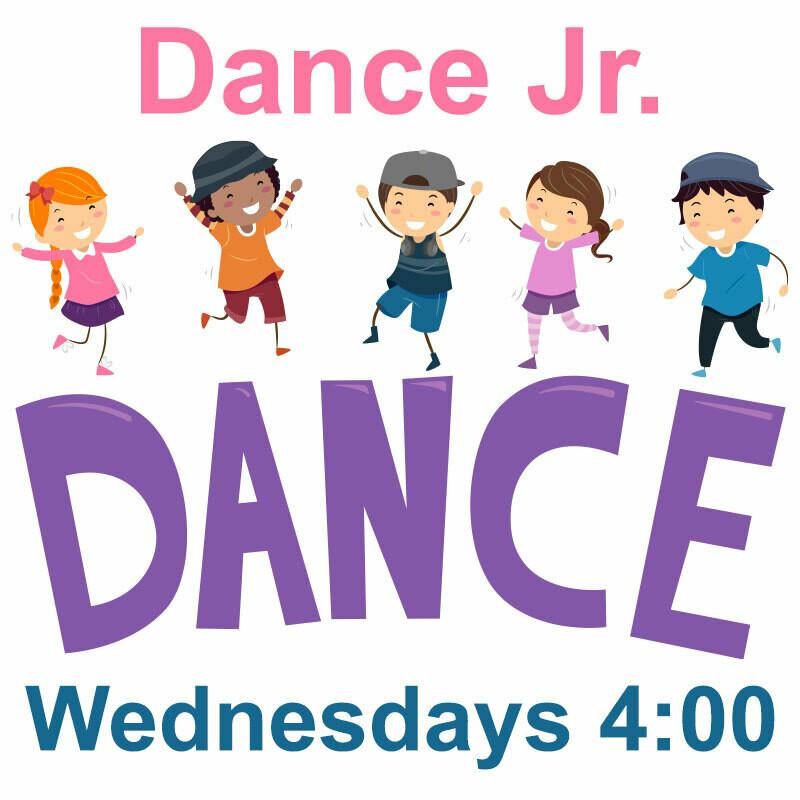 Dance Jrs (age 2-5) ONLINE - Wednesdays 4:00-4:45pm
