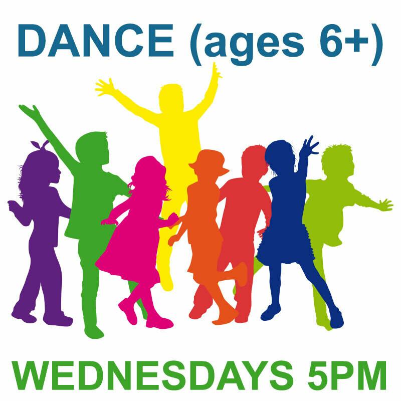 Fanfare Dance (6 and older) ONLINE - Wednesdays 5:00-5:45pm