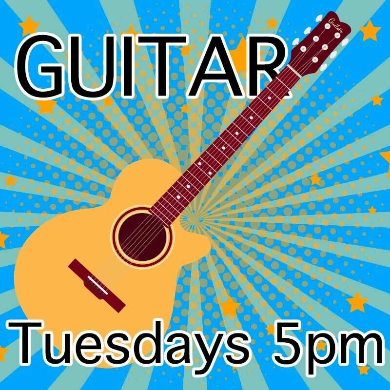 Guitar* - Tuesdays 5:00pm-5:45pm