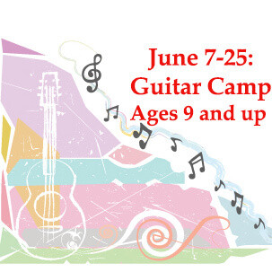 Guitar Camp - In Person Monday-Thursday 9:00-10:30am