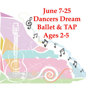 Dancers Dream Ballet & Tap - In Person Monday-Thursday 9:00am- 10:30am