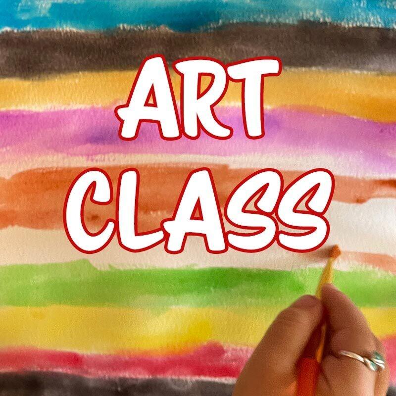Art Class - Tuesdays 6:00pm-6:45pm
