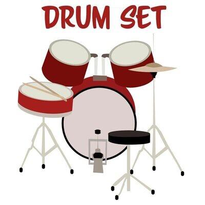 Drumset Beginning - Fridays 6:00-6:45pm