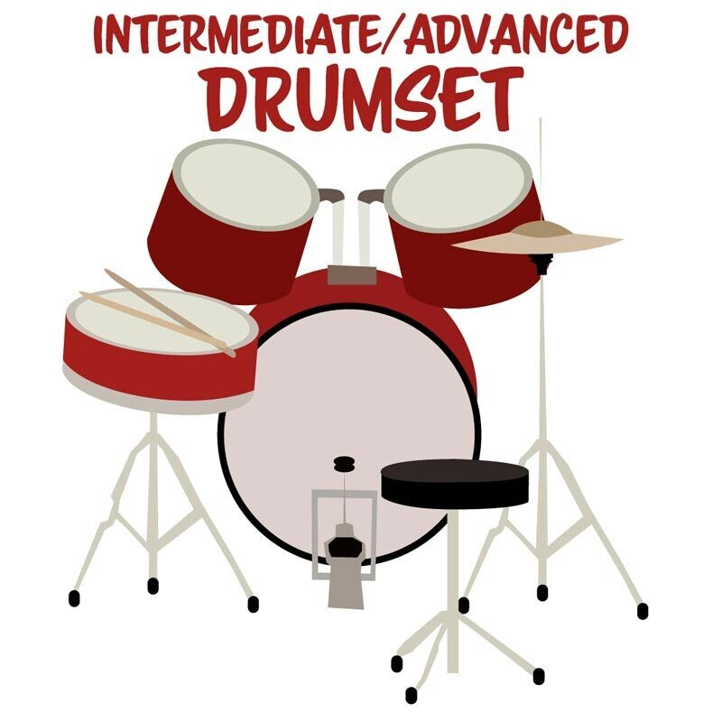 Drumset Intermediate/Advanced - Fridays 4:00-4:45pm