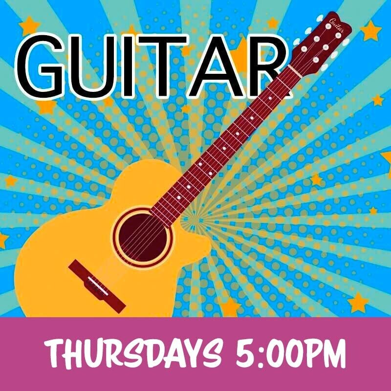 Guitar - Thursdays 5:00pm-5:45pm