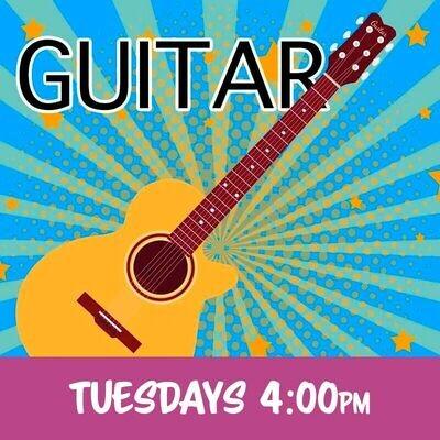 Guitar - Tuesdays 4:00pm-4:45pm