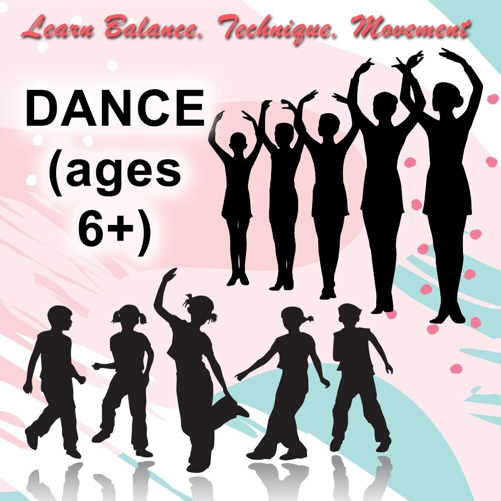 Fanfare Dance (6 and older) - Wednesdays 4:00-4:45pm
