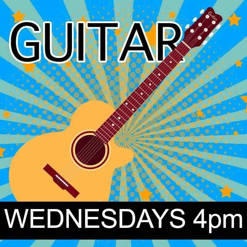 Guitar - Wednesdays 4:00pm-4:45pm