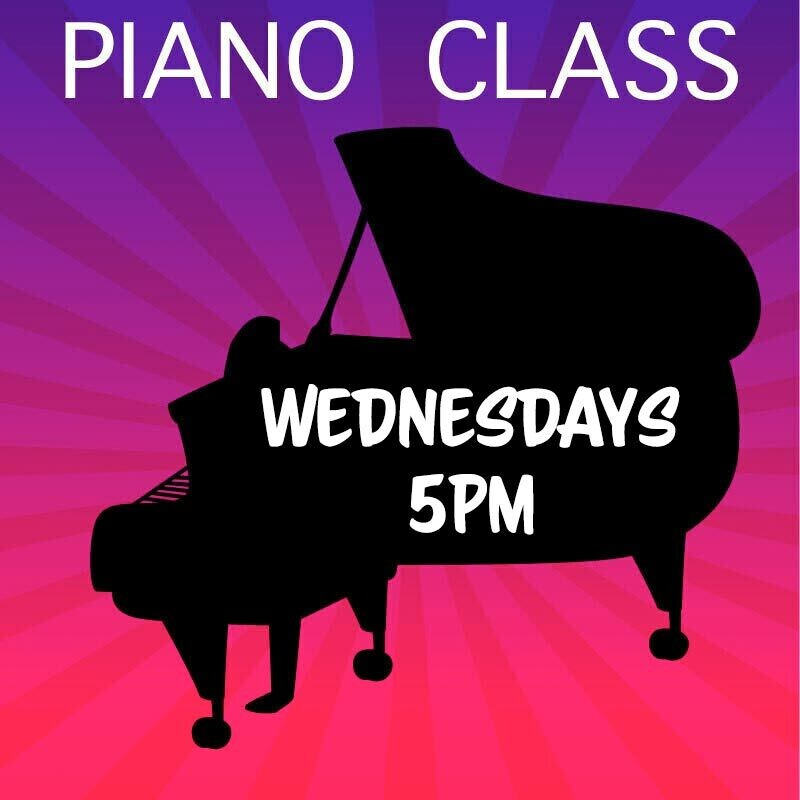 Piano - Wednesdays 5:00-5:45pm