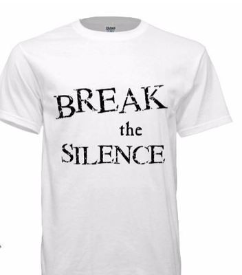 Youth Break the Silence White Tshirts