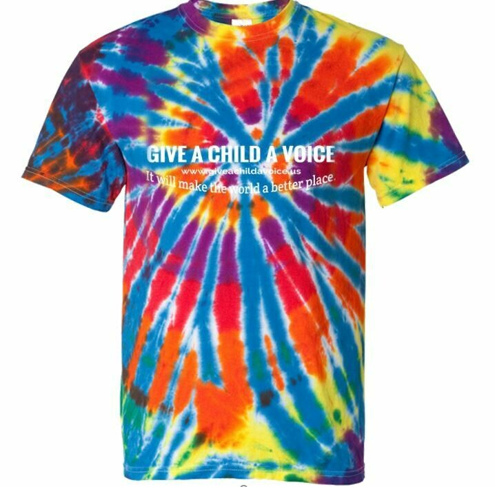 Tie Dye Tee - Give a Child a Voice