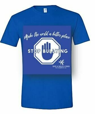 Stop Bullying Tee - Give a Child a Voice