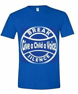 Break Silence - Give a Child a Voice Tee