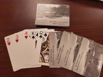Pine Valley Covered Bridge Playing Cards