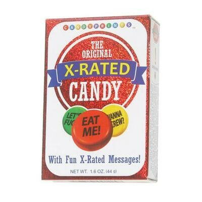 X RATED CANDY