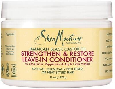 Shea Moisture Jamaican Black Castor Oil Strengthen & Restore Leave-In Conditioner