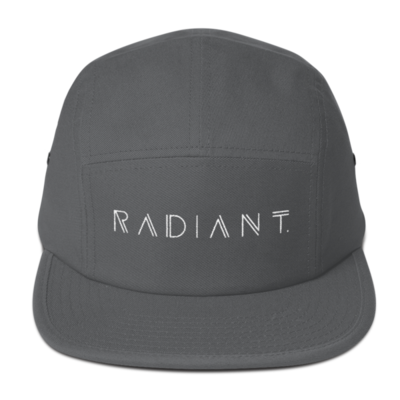 5 Panel RADIANT. Front & Back embroidered