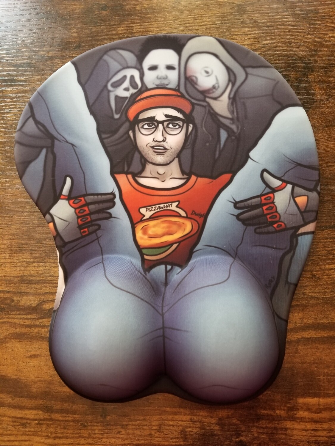 Bootylicious Dwight Mouse Pad