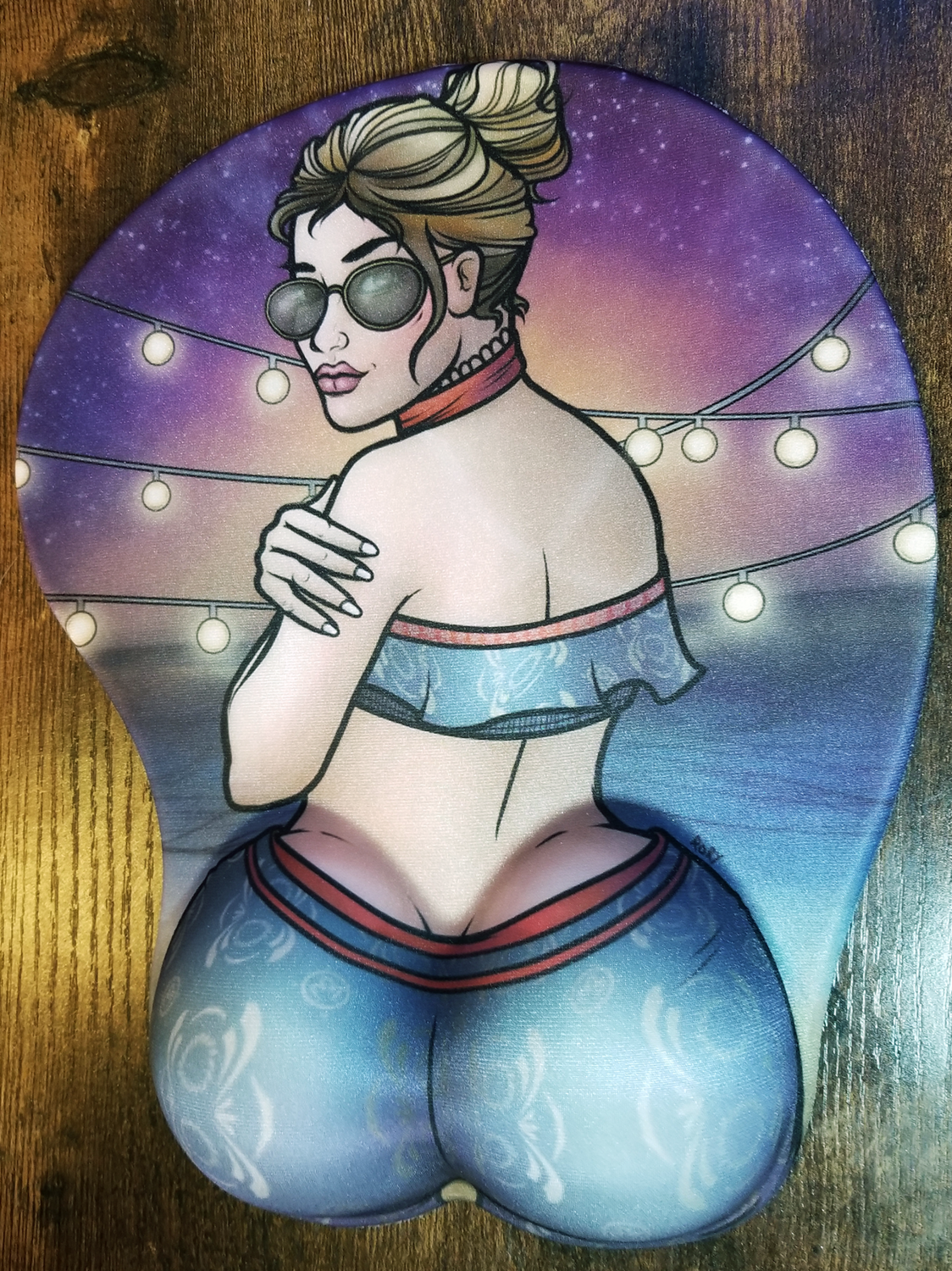 Bootylicious Jane Mouse Pad