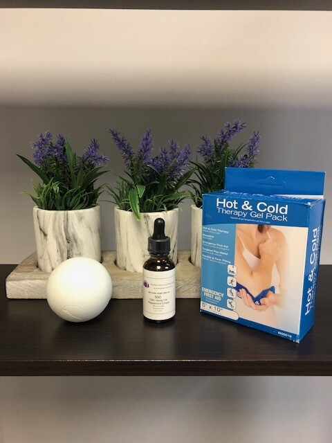 Recovery Pack with CBD oil