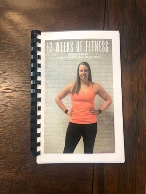 12 Weeks of Fitness Book