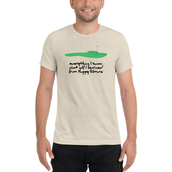 Gilmore Golf Tribute Tee