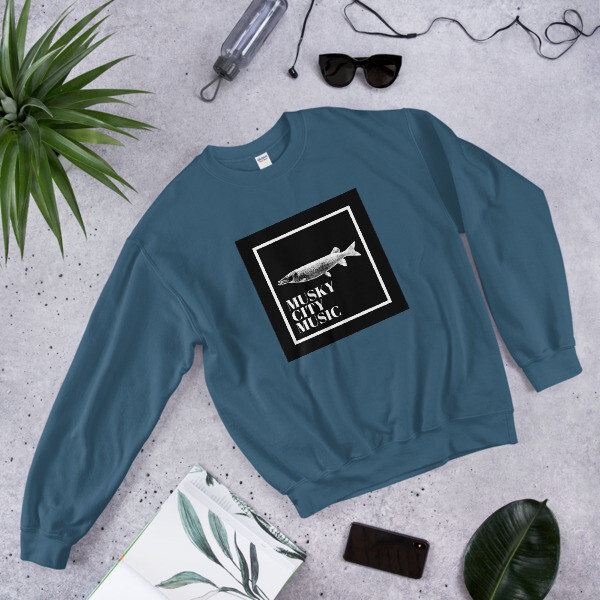 Musky City Music Crewneck Vol. 2