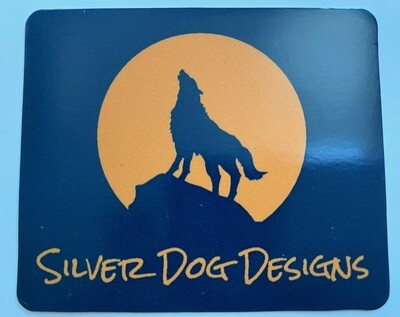 Silver Dog Designs Decal