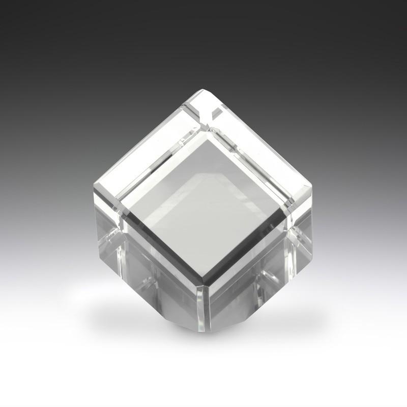 Crystal Cube Glass Trophy – CC650S & CC650L