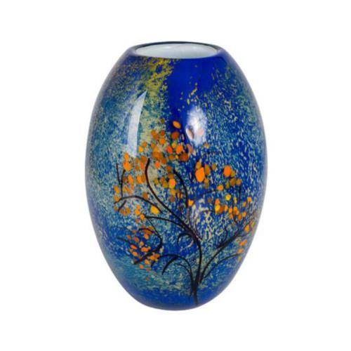 Mondrian's Coloured Glass Tree Vase by Zibo