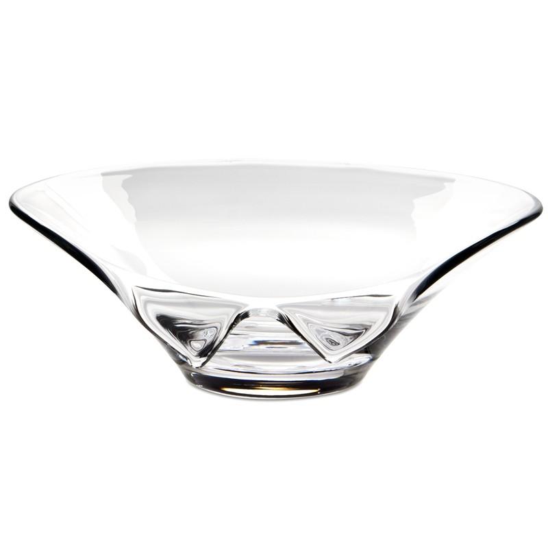 Engraved Kalle Glass Bowl by Visla