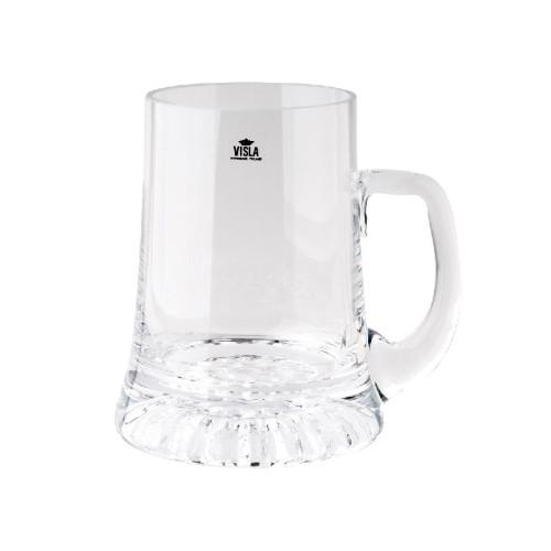 Visla Crown Beer Mug 400ml