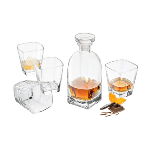 Ducale Set 1 x Decanter and 4 x DOF's