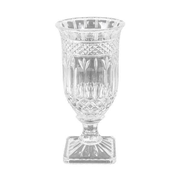 Parisian Glass Hurricane Lamp Trophy