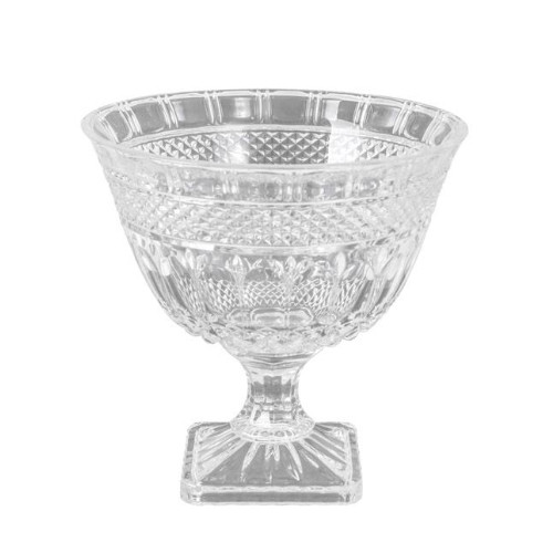 Parisian Glass Footed Bowl Trophy